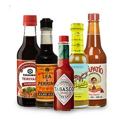 Seasonings, Condiments & Ingredients